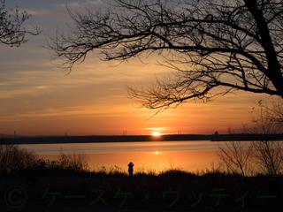 縮小 2016年11月11日 日の出 −6℃ ウトナイ湖.jpg
