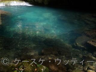 縮小 ブ 2017年5月7日 美しい水の色 秋芳洞.jpg